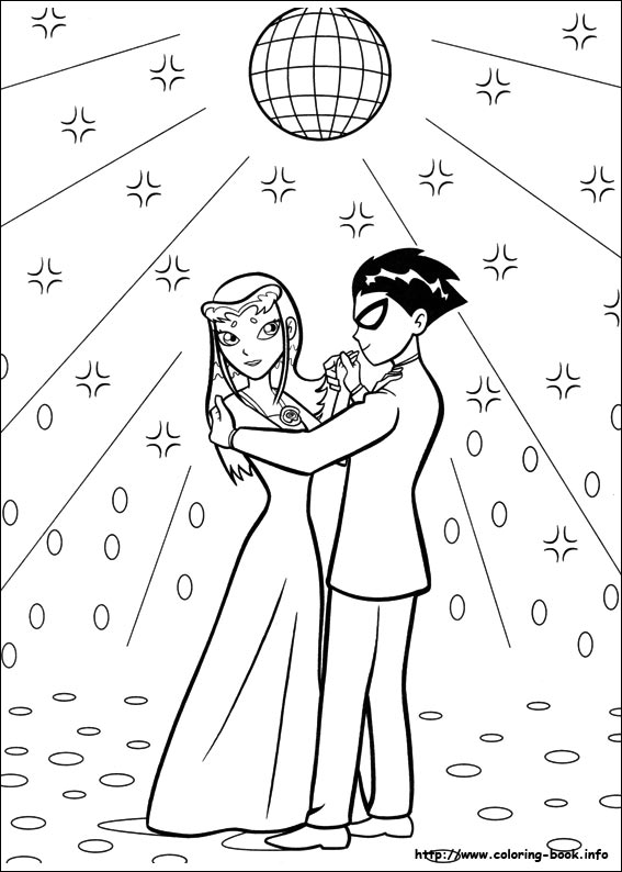 567x794 Teen Titans Coloring Picture Teen Titans Teen Titans