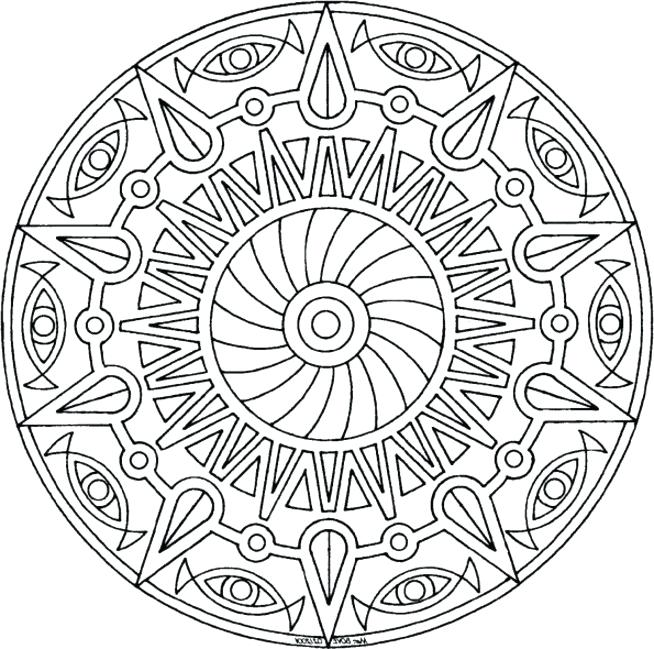 654x649 Printable Coloring Pages For Teens