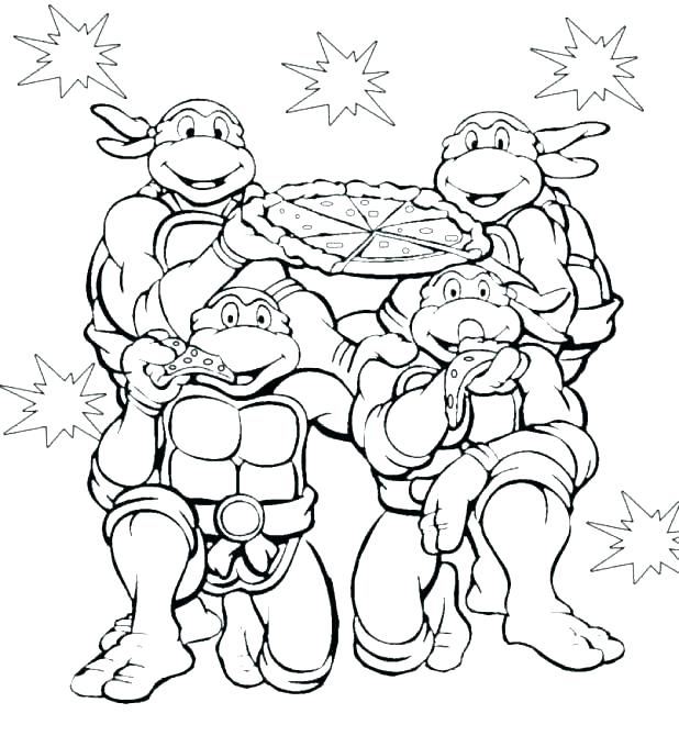 618x670 Ninja Turtle Coloring Pages Coloring Pages Free Turtle Coloring