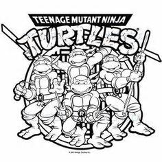Teenage Mutant Ninja Turtles Coloring Pages At Getdrawings