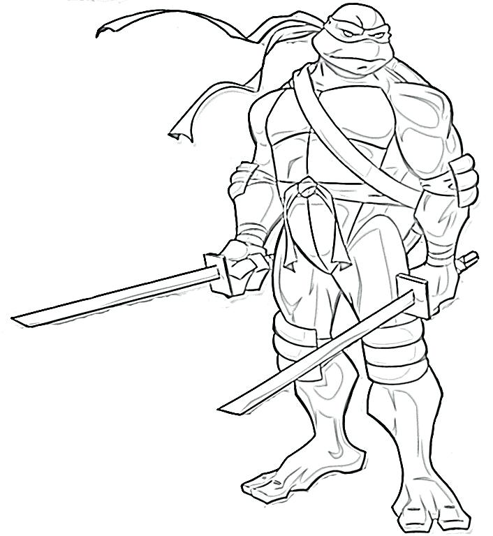 706x768 Ninja Turtle Coloring Mutant Ninja Turtle Coloring Pages Ninja