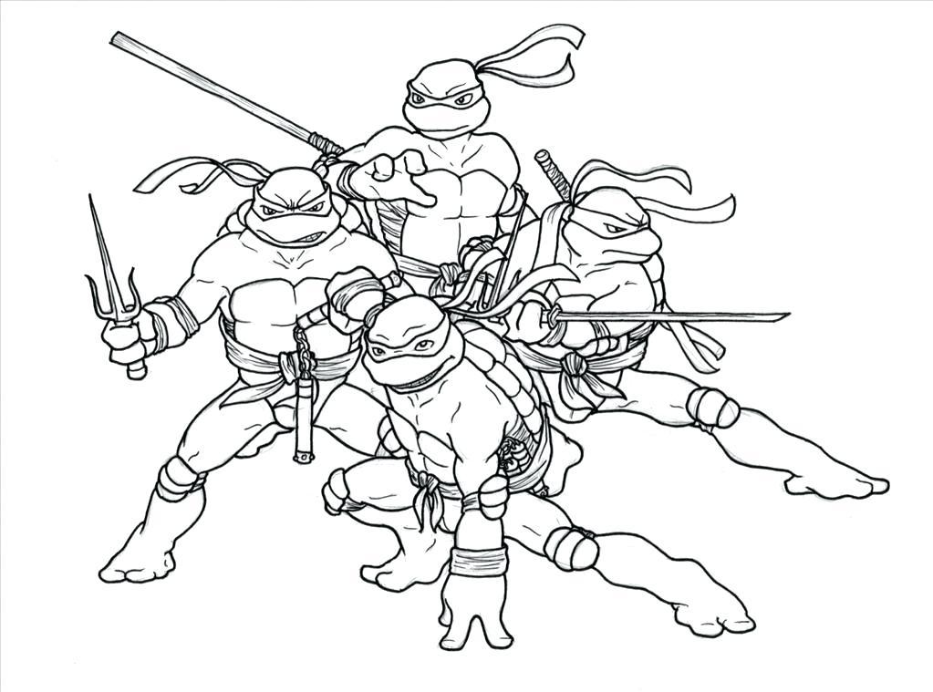 1023x759 Ninja Turtles Coloring Page Ideal Teenage Mutant Ninja Turtle