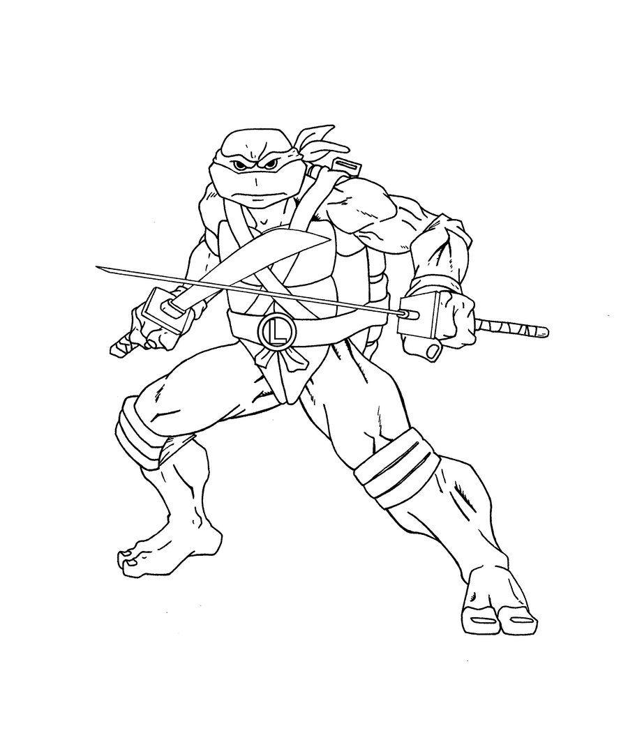 900x1084 Sizable Leonardo Teenage Mutant Ninja Turtles Coloring Pages