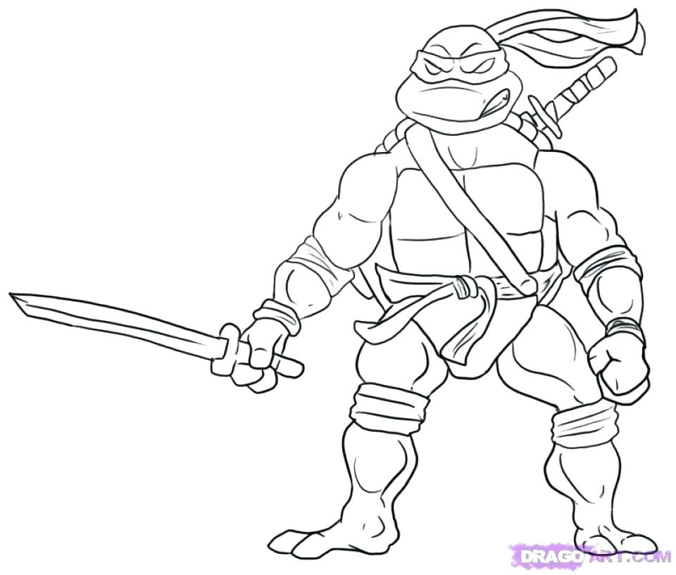960x817 Tmnt Coloring Pages Leonardo Mutant Ninja Turtles Coloring Pages