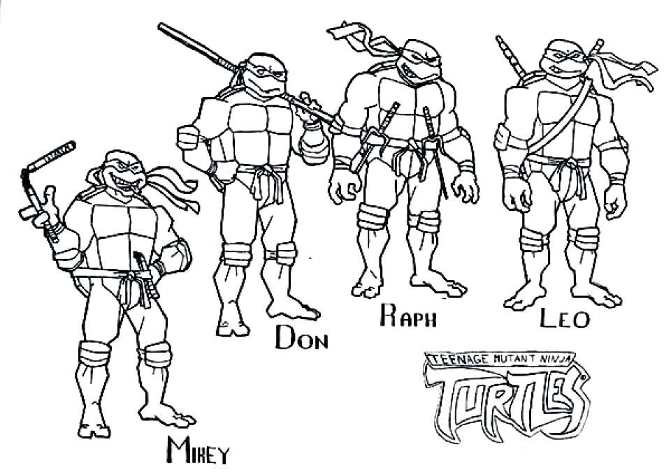 960x676 Ninja Turtles Coloring Pages Free Teenage Mutant Ninja Turtles
