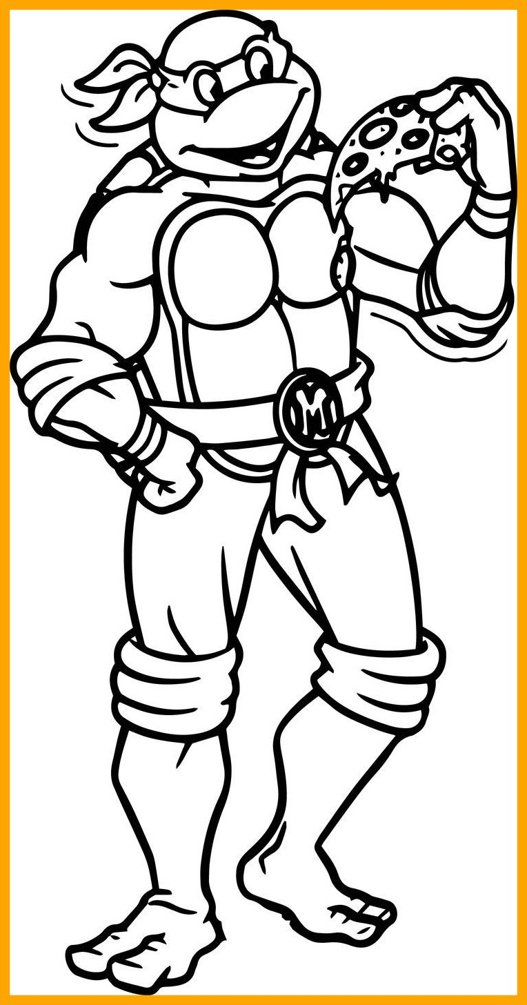 764x1456 Stunning Teenage Mutant Ninja Turtles Coloring Pages Book Picture