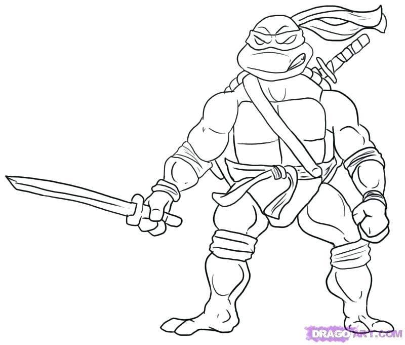 800x681 Tmnt Coloring Pages Leonardo Teenage Mutant Ninja Turtles Coloring