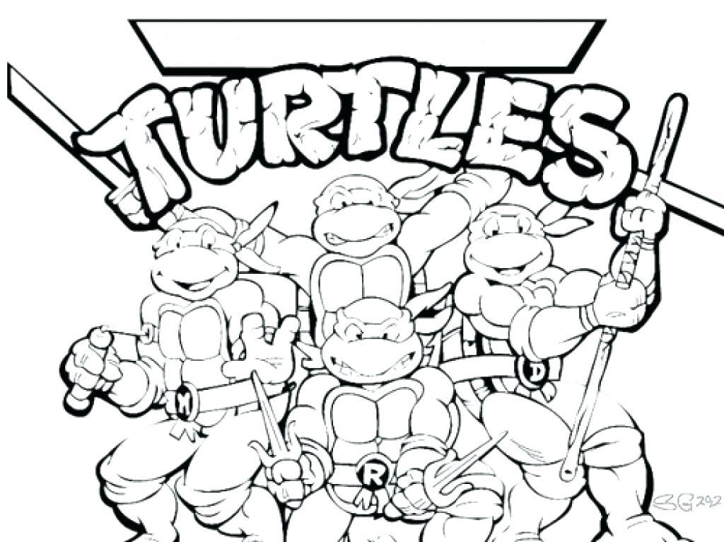 1024x766 Coloring Pages Of Ninjas Teenage Ninja Turtles Coloring Pages