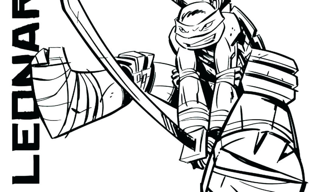 1048x632 Ninja Turtles Coloring Pages Donatello Top Teenage Mutant Ninja