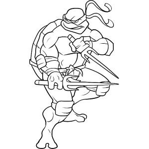 300x300 Sai Is Raphael Weapon Of Choice Coloring Page