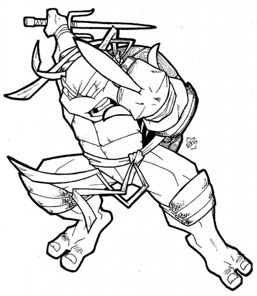 889x1024 Unique Teenage Mutant Ninja Turtles Coloring Pages Mad Monkey