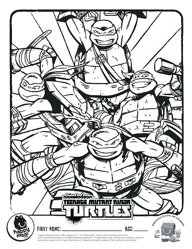 386x500 Ninja Turtle Coloring Page Teenage Mutant Ninja Turtles Coloring
