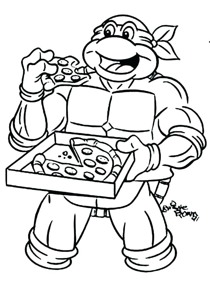 687x923 Ninja Turtles Coloring Pages To Print Ninja Turtles Coloring Pages
