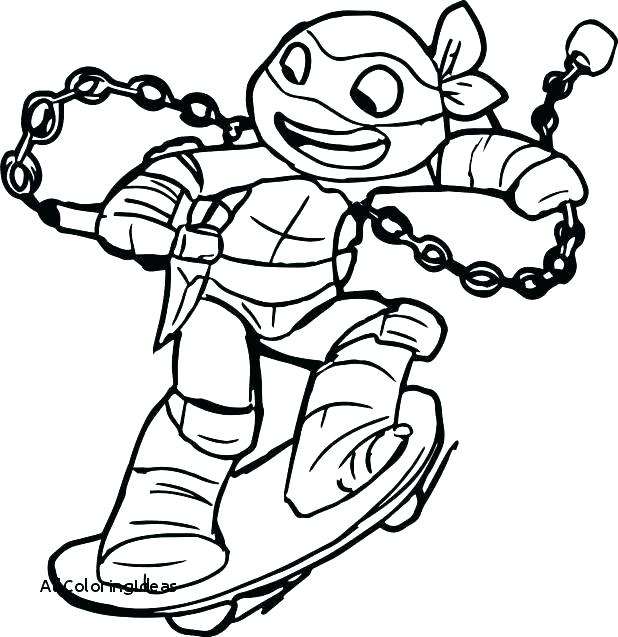 618x637 Printable Coloring Pages Ninja Turtles Turtle Coloring Pages