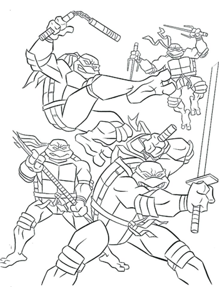 731x960 Teenage Mutant Ninja Turtles Coloring Pages Teenage Mutant Ninja