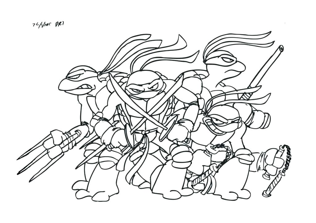 1024x724 Master Splinter Coloring Pages Free Mutant Ninja Turtles Coloring