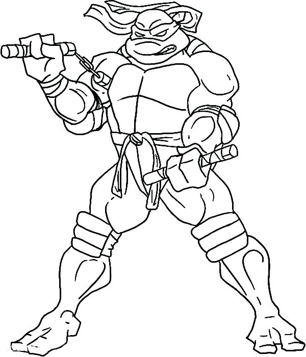 600x700 Ninja Turtle Coloring Page Mutant Ninja Turtles Coloring Pages
