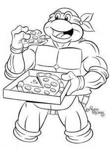 Teenage Mutant Ninja Turtles Free Coloring Pages At