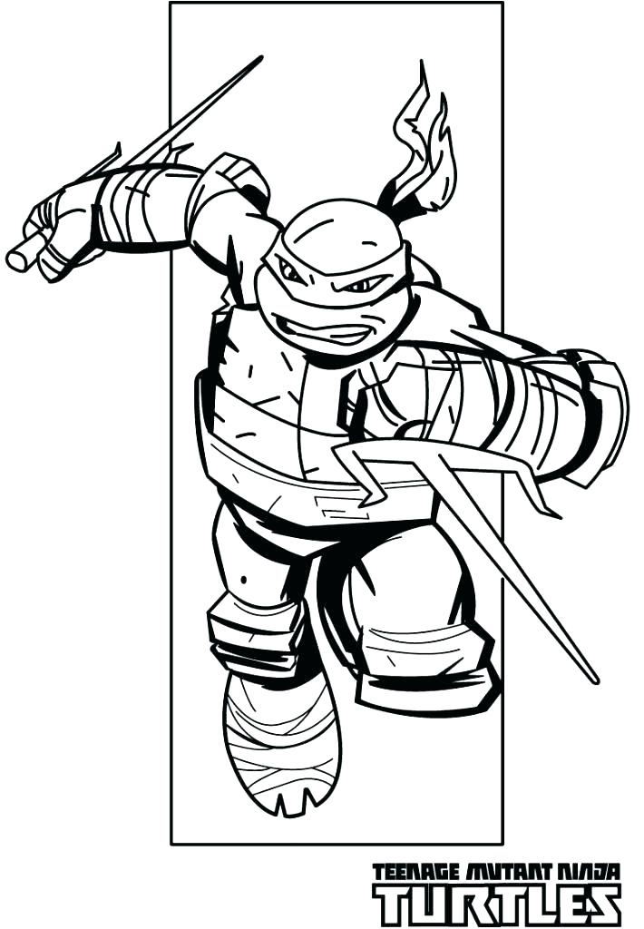 710x1024 Ninja Turtles Free Coloring Pages