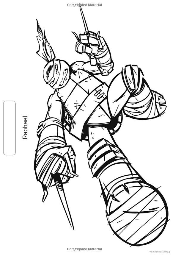 582x860 Ninja Turtles Nickelodeon Coloring Pages Teenage Mutant