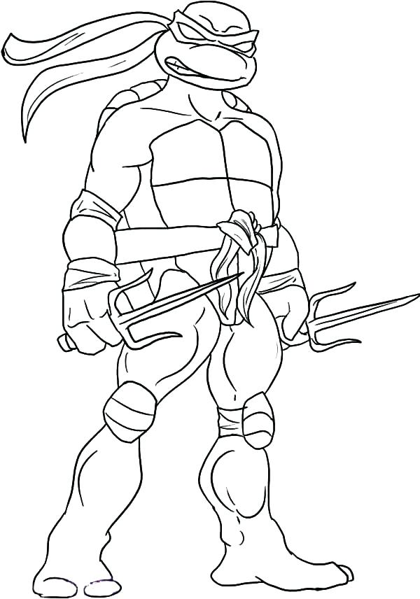 600x856 Teenage Mutant Ninja Turtles Michelangelo Coloring Pages Teenage