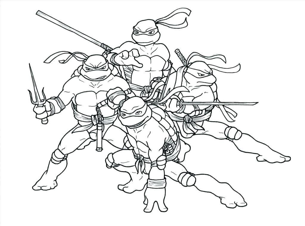 1023x759 Raphael Ninja Turtle Coloring Pages Printable Teenage Mutant