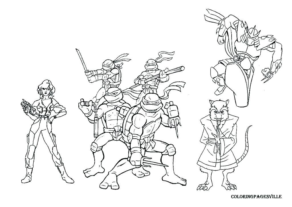 1024x724 Teenage Mutant Ninja Turtles Coloring Book Games Ninja Turtles