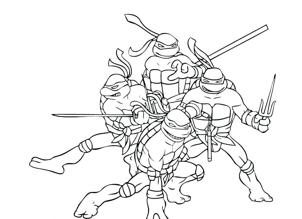1024x745 Teenage Mutant Ninja Turtles Coloring Pages Raphael Teenage Mutant