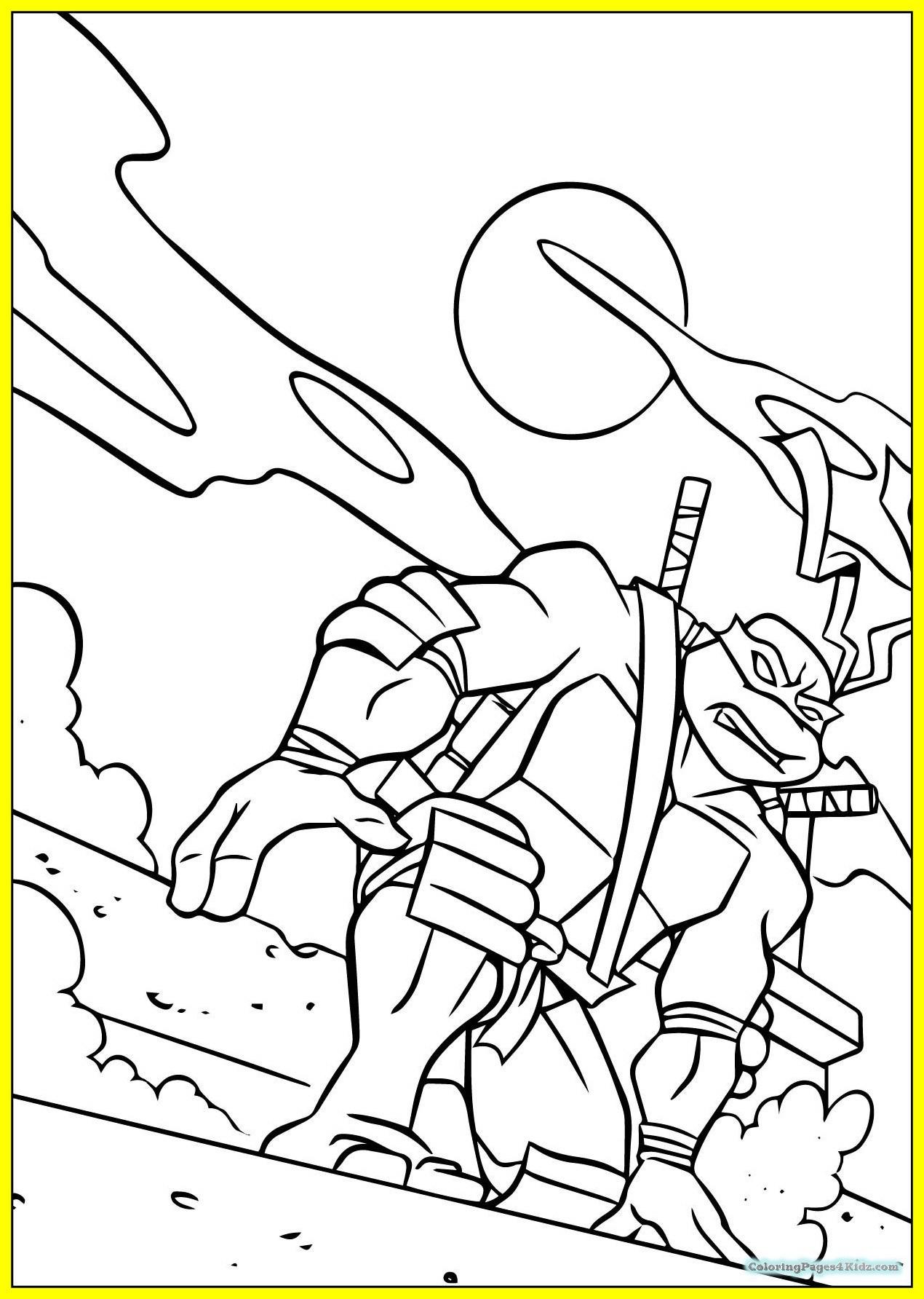 1270x1784 Fascinating Teenage Mutant Ninja Turtles Coloring Pages Raphael