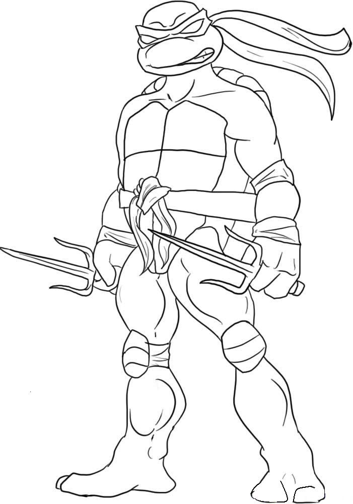 701x1000 Teenage Mutant Ninja Turtles Coloring Pages Printable Coloring