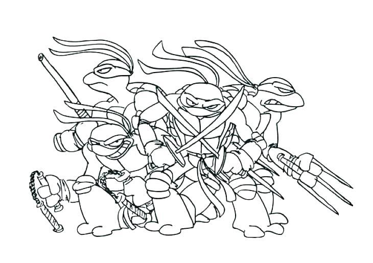 730x515 Ninja Turtles Coloring Pages Printable