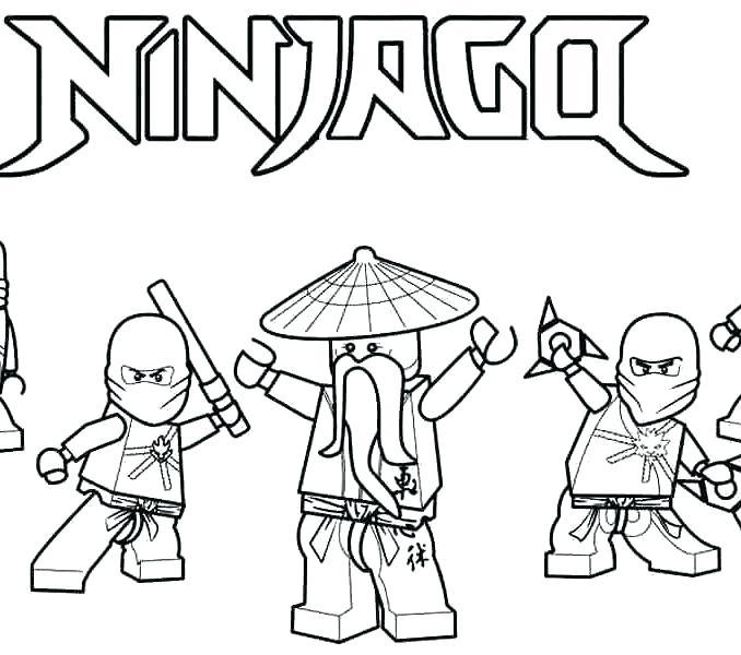 678x600 Ninja Coloring Pages Printable Nickelodeon Ninja Turtles Coloring