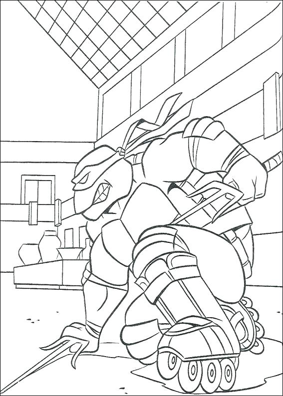 567x794 Ninja Turtle Coloring Page Coloring Book As Well As Teenage Mutant