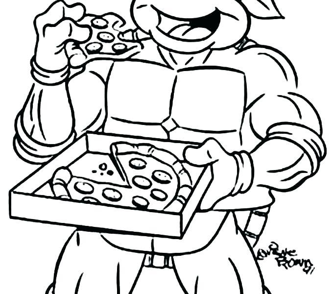 678x600 Ninja Turtle Coloring Page Free Teenage Mutant Ninja Turtle