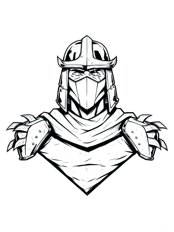 736x981 Perfect Shredder Coloring Pages Best Of Turtles Teenage Mutant