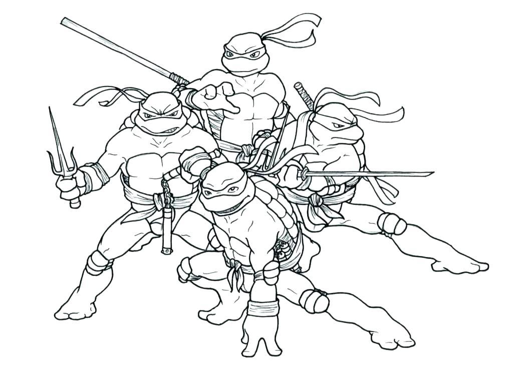1024x760 Coloring Pages Teenage Mutant Ninja Turtles Online Shredder