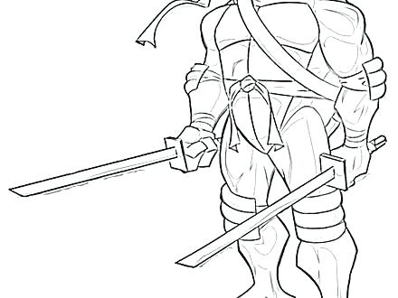 440x330 Shredder Coloring Pages Teenage Mutant Ninja Turtle Coloring Book