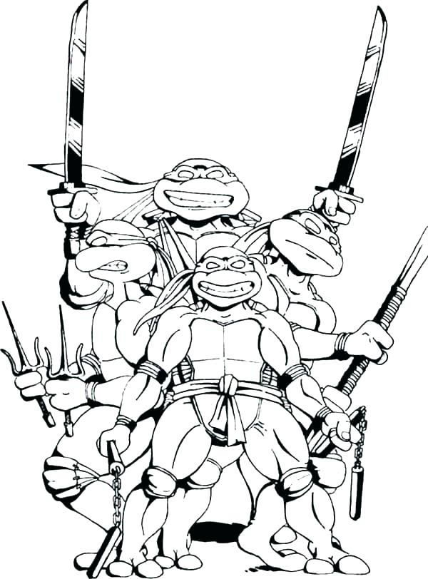 600x812 Shredder Coloring Pages Teenage Mutant Ninja Turtle Coloring Page