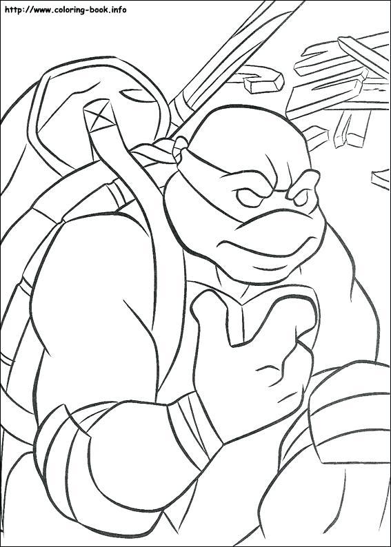 567x794 Teenage Mutant Ninja Turtle Coloring Pages Teenage Mutant Ninja