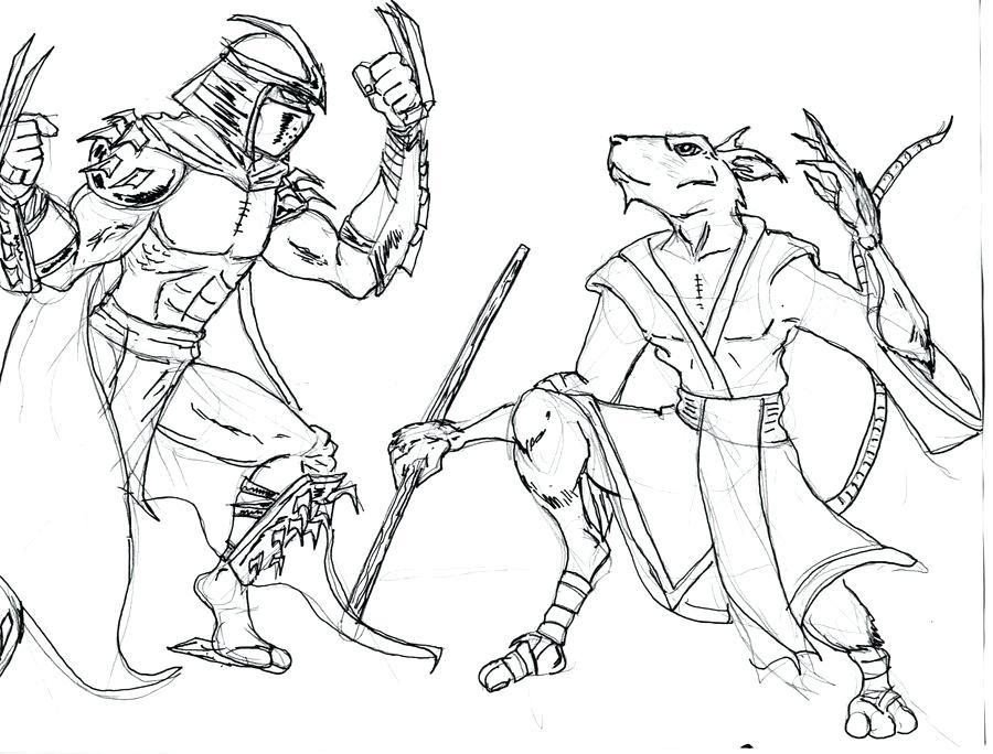 900x684 Nickelodeon Teenage Mutant Ninja Turtles Colouring Pages All