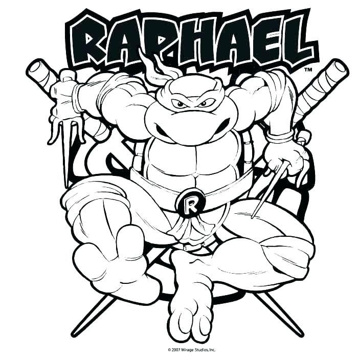 700x700 Teenage Mutant Ninja Turtles Coloring Pages For Kids Full Size
