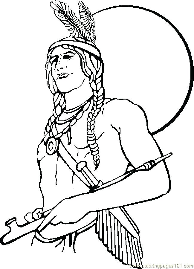649x900 Terrific Native American Coloring Pages Two In Front Of Teepee