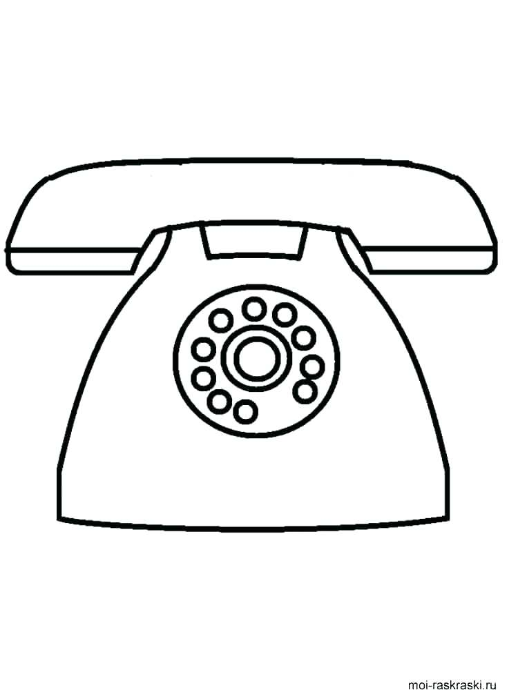750x1000 Phone Coloring Pages Telephone Coloring Pages Phone Coloring Pages