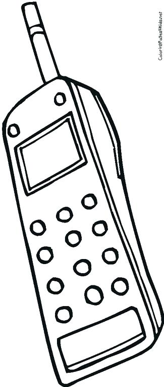 325x765 Cell Phone Colouring Pages Cell Phone Coloring Page Free Coloring