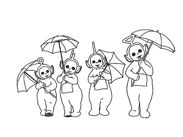 600x450 Teletubbies Coloring Page Kids Printable Coloring Pages