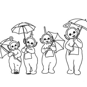 300x300 Teletubbies Coloring Page Kids Teletubbies Coloring Page