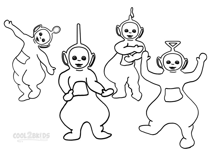 900x643 Teletubbies Coloring Pages