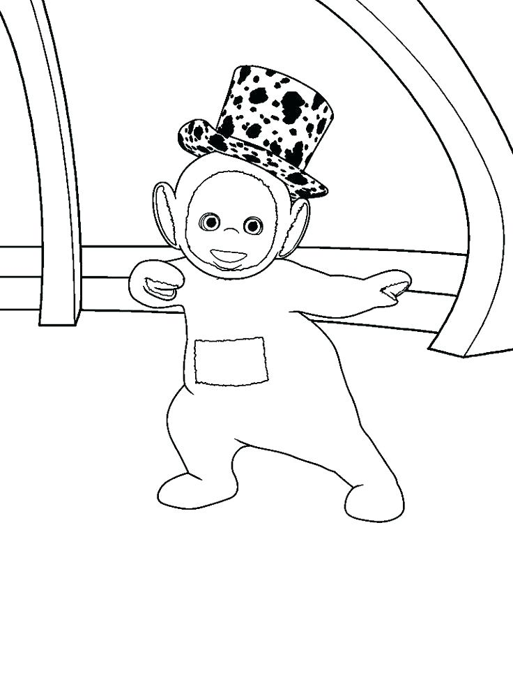 736x981 Teletubbies Coloring Pages Coloring Book Plus Coloring Page
