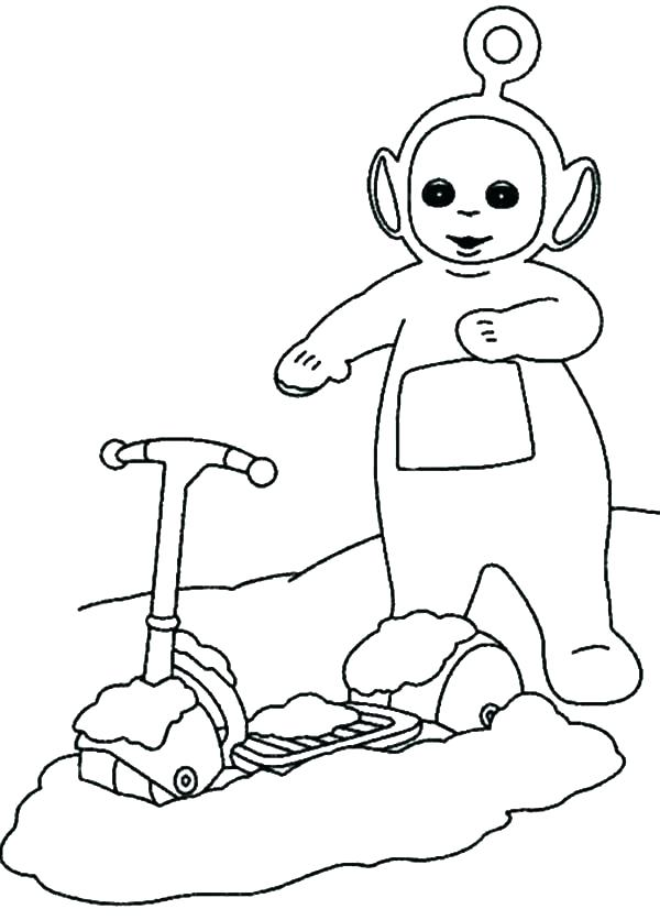600x836 Teletubbies Coloring Pages Coloring Pages Teletubbies Free