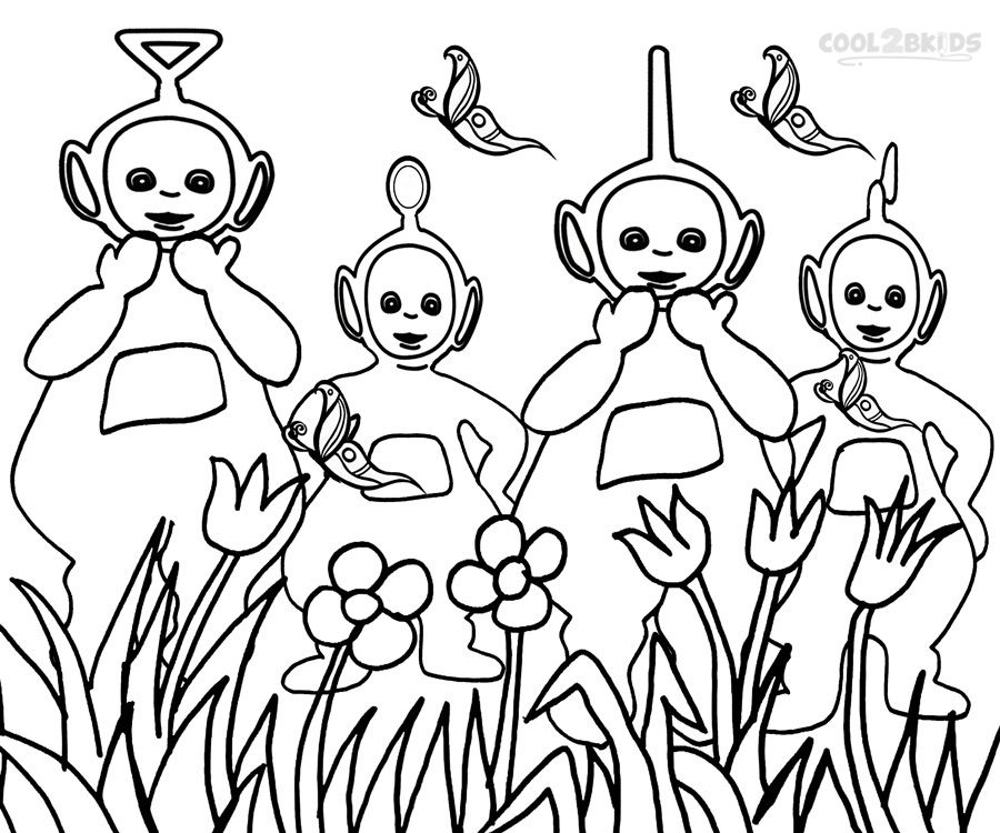 900x750 Teletubbies Coloring Pages New Teletubbies Coloring Page